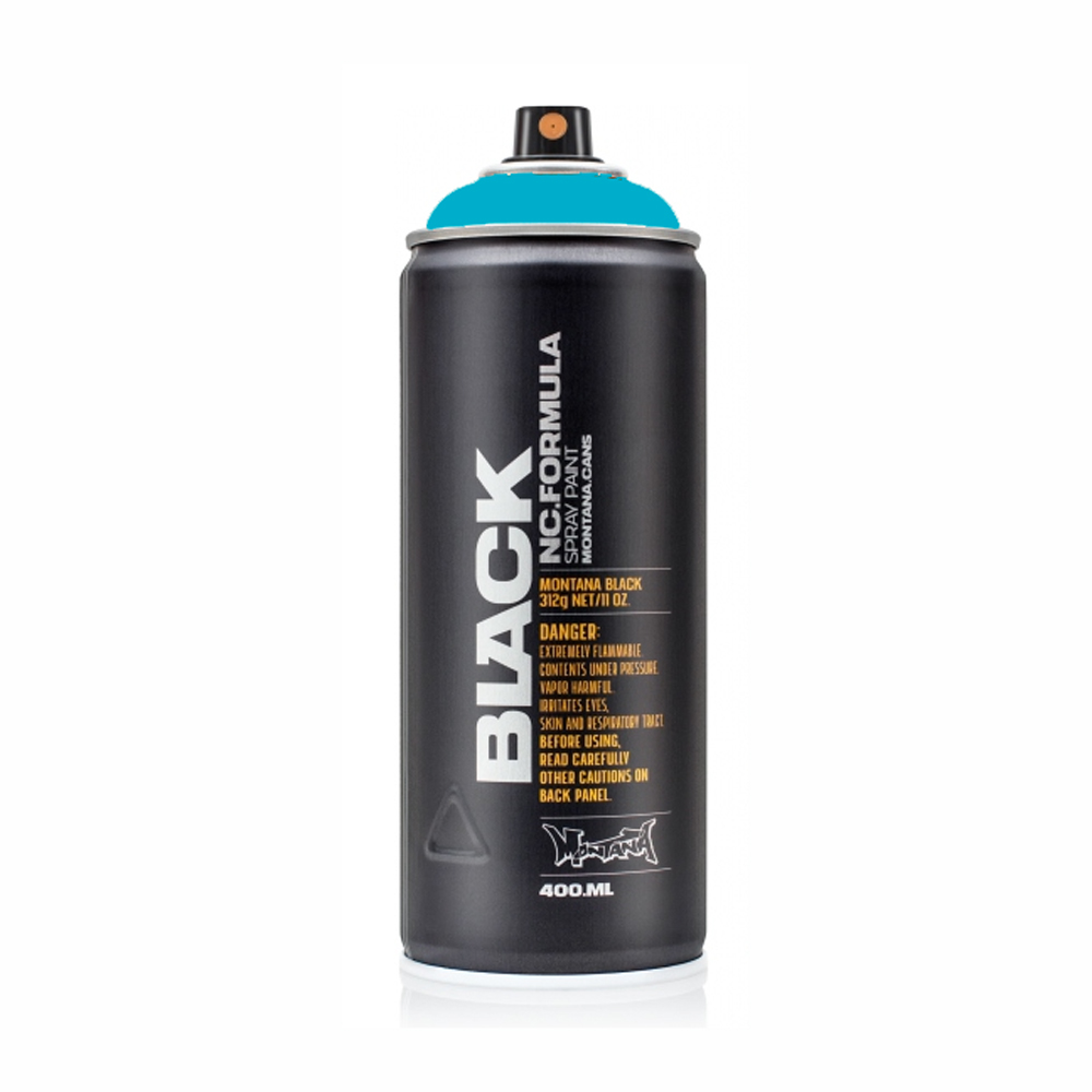 Montana Black 400Ml True Cyan
