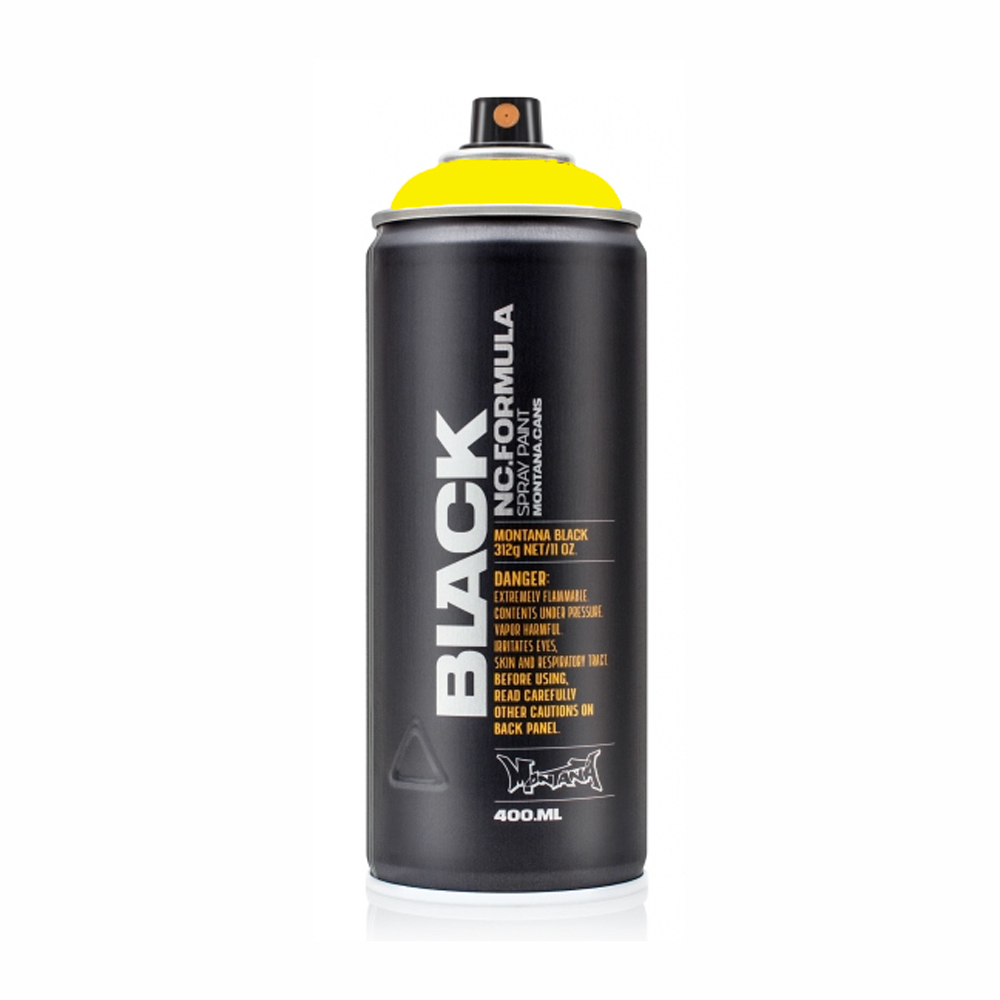 Montana Black 400Ml Infra Yellow