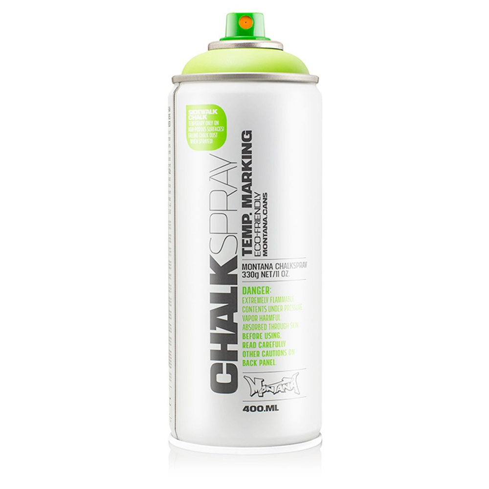 Montana Chalk Spray Green 400Ml