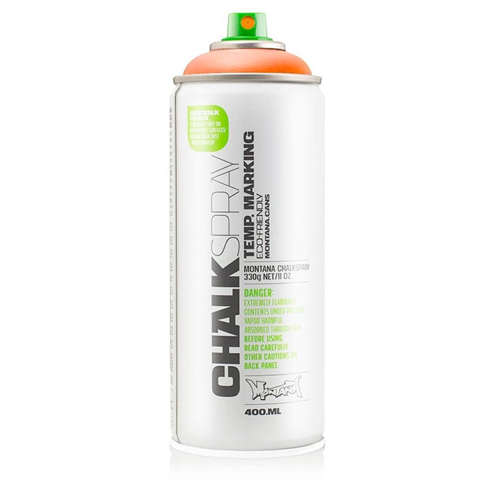 Montana Chalk Spray Orange 400Ml