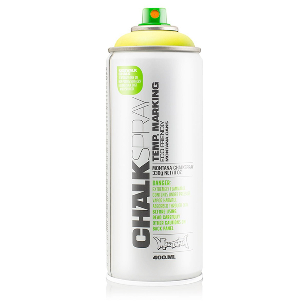Montana Chalk Spray Yellow 400Ml