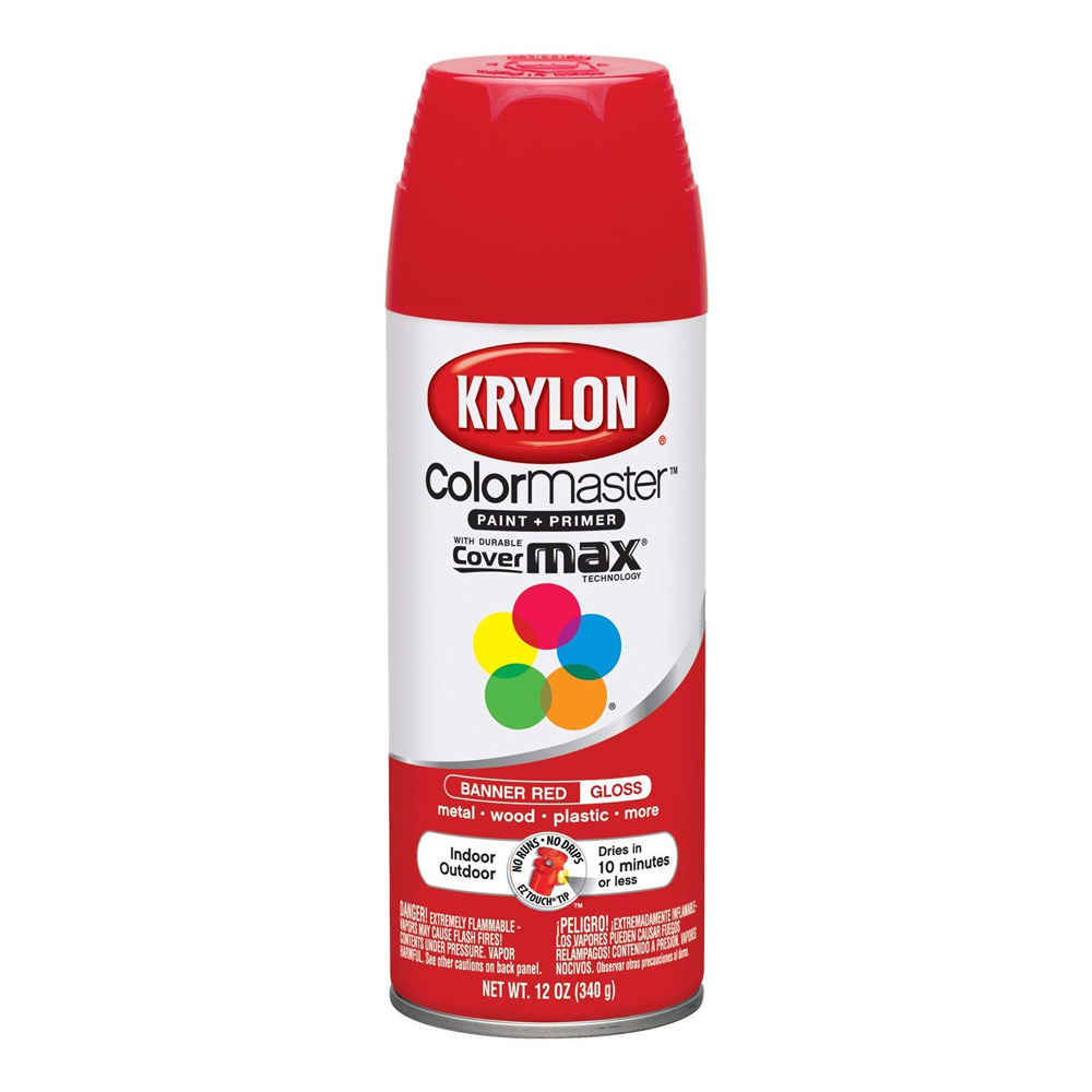 Krylon 12 Oz 2108 Banner Red *Orm20