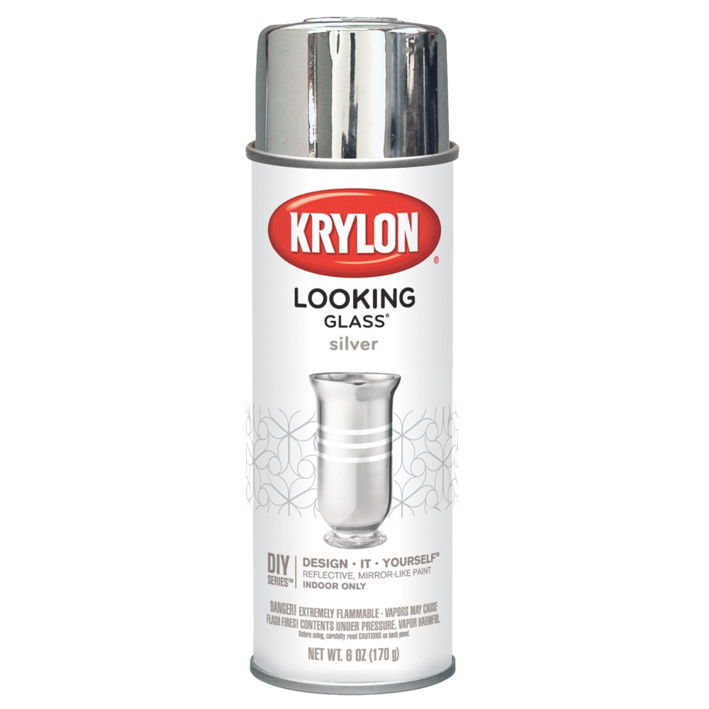Krylon 6Oz Looking Glass Mirror-Like Paint