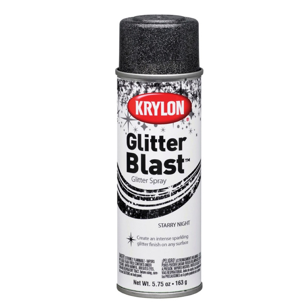 Krylon Glitter Blast 5.75 Oz Star Night