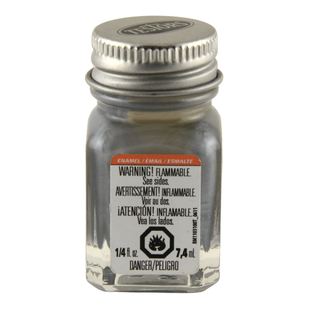 Testors Enamel 1/4 Oz Bottle Gray