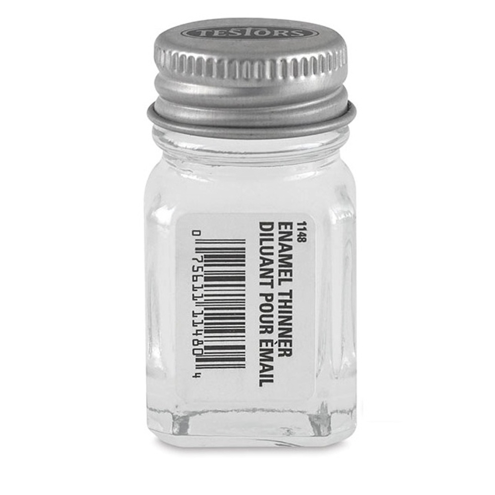 Testors Enamel 1/4 Oz Bottle Thinner