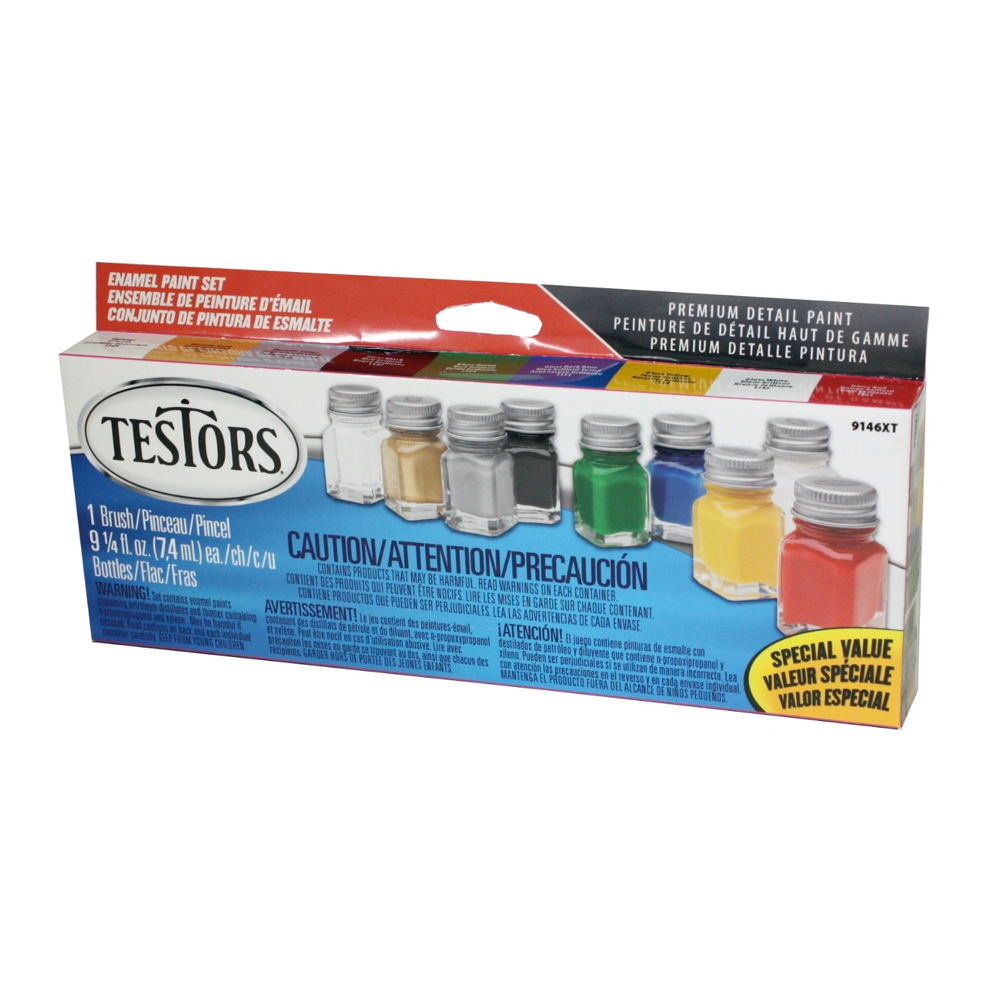 Testors Enamel Paint Set