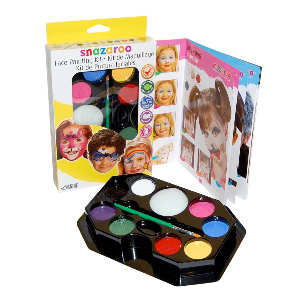 Snazaroo Palette Kit: Rainbow Face