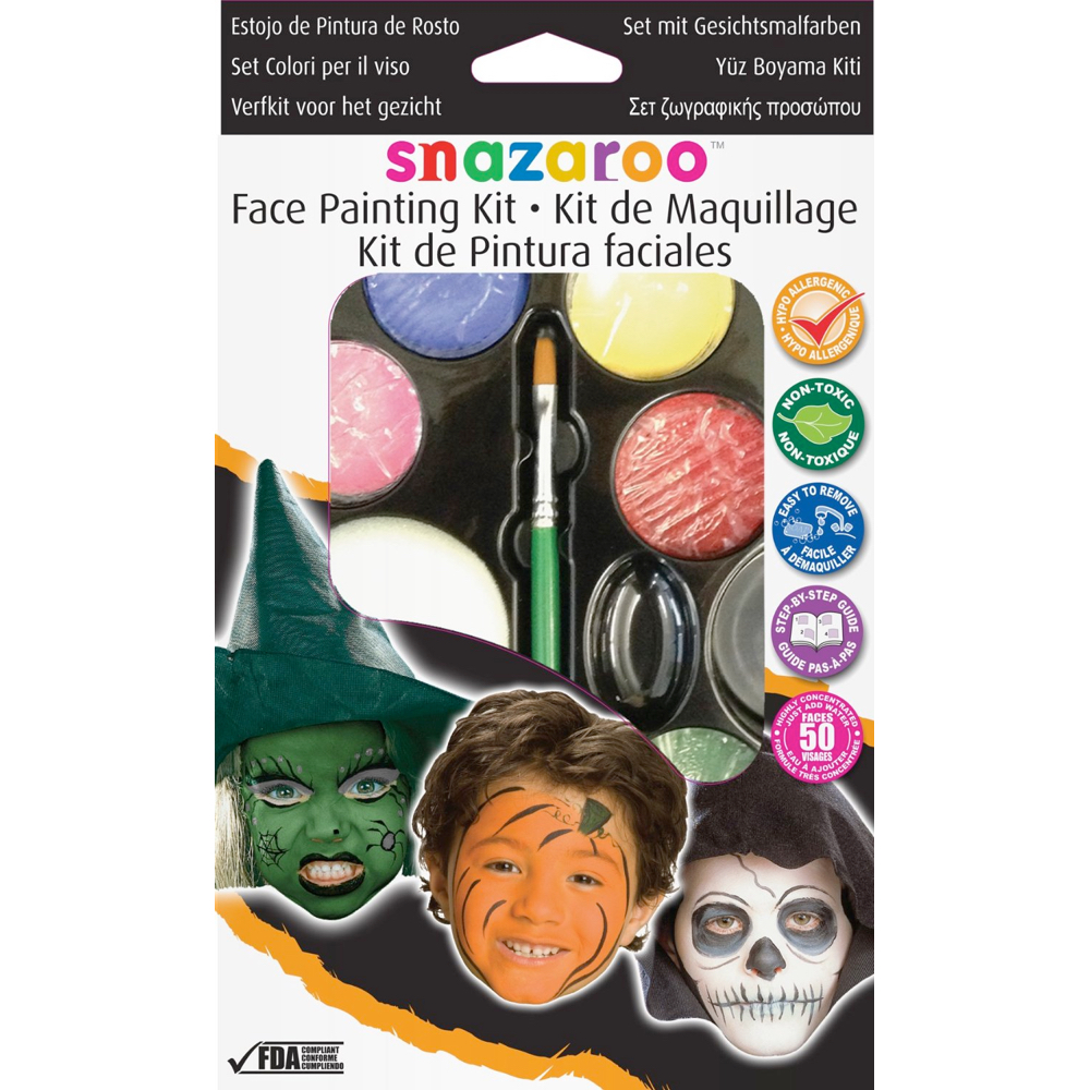 Snazaroo Palette Kit: Halloween