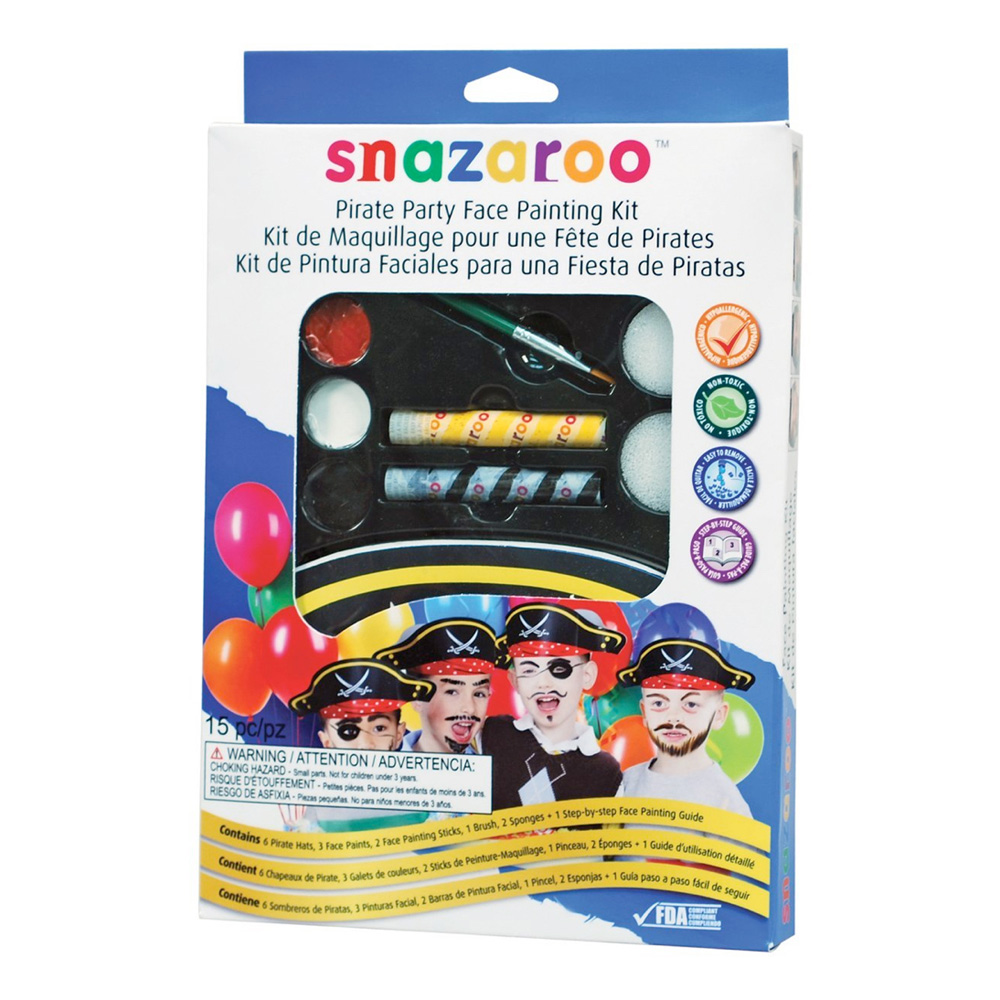 Snazaroo Party Pack: Pirate