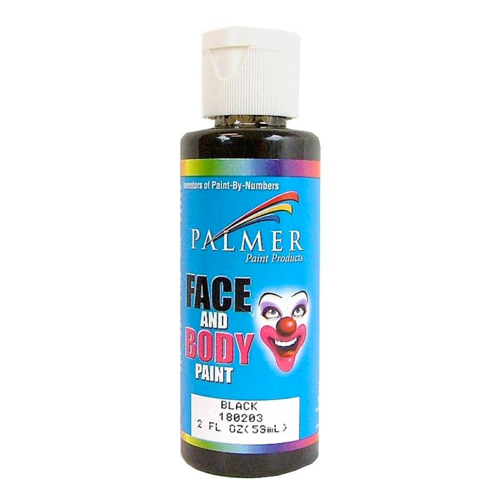 Palmer Face Paint 2 Oz Black