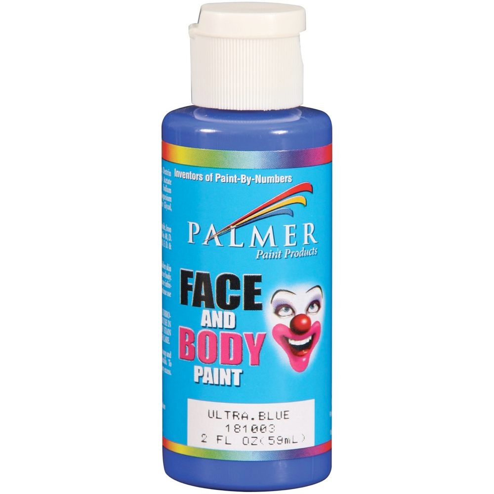 Palmer Face Paint 2 Oz Ultra Blue
