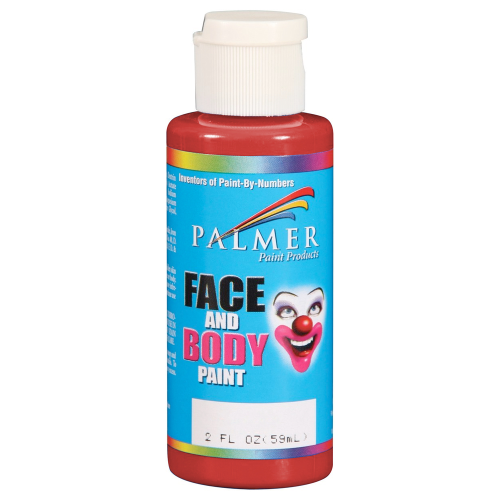 Palmer Face Paint 2 Oz Red
