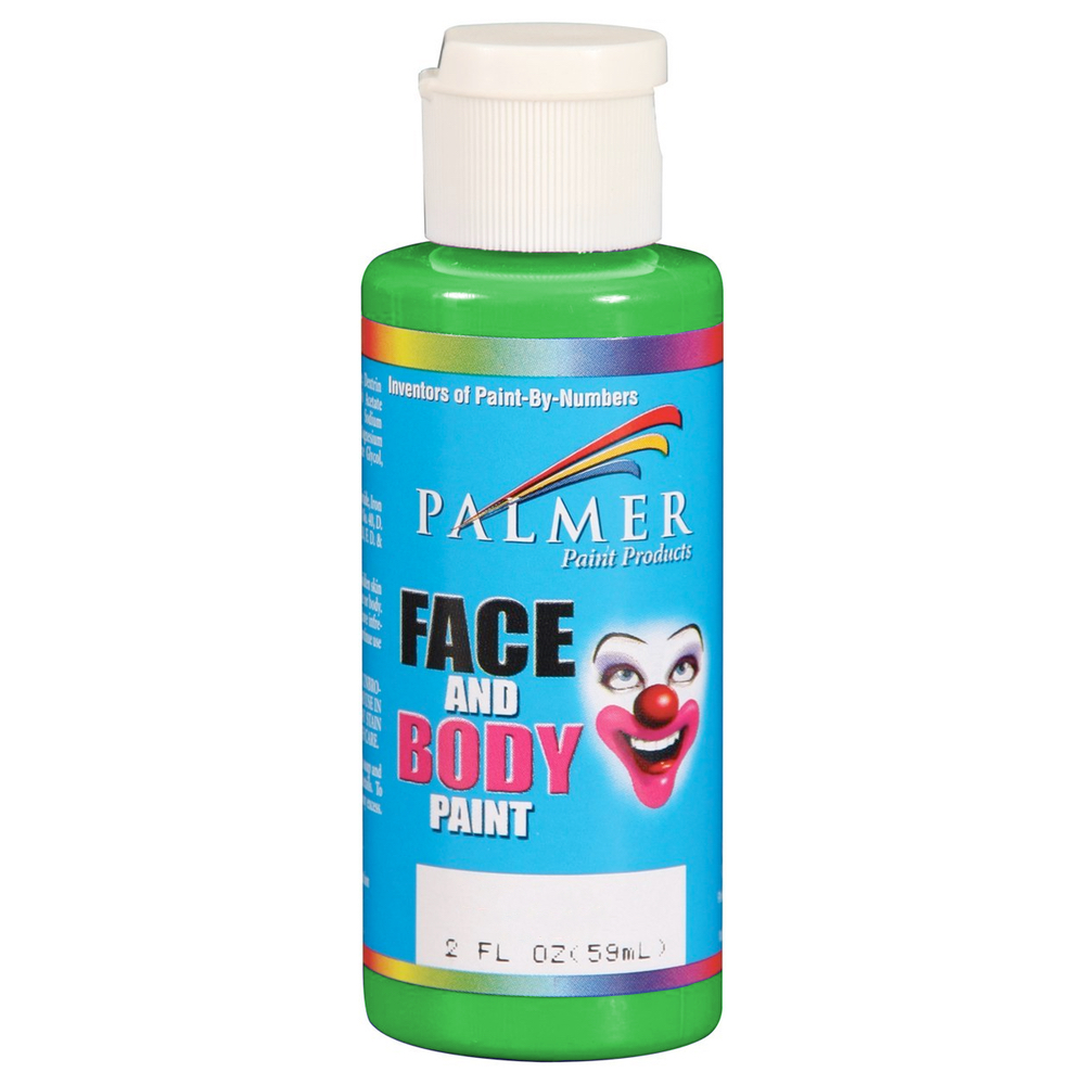 Palmer Face Paint 2 Oz Green