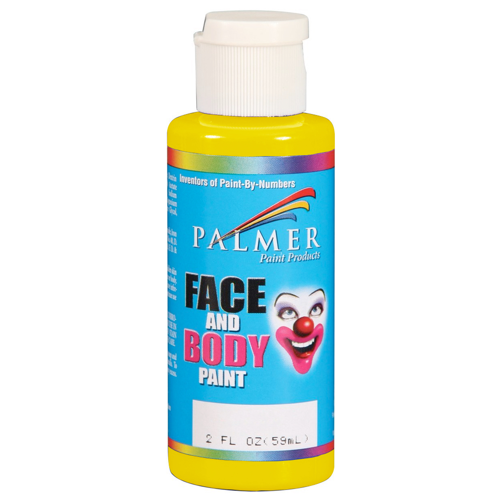 Palmer Face Paint 2 Oz Yellow