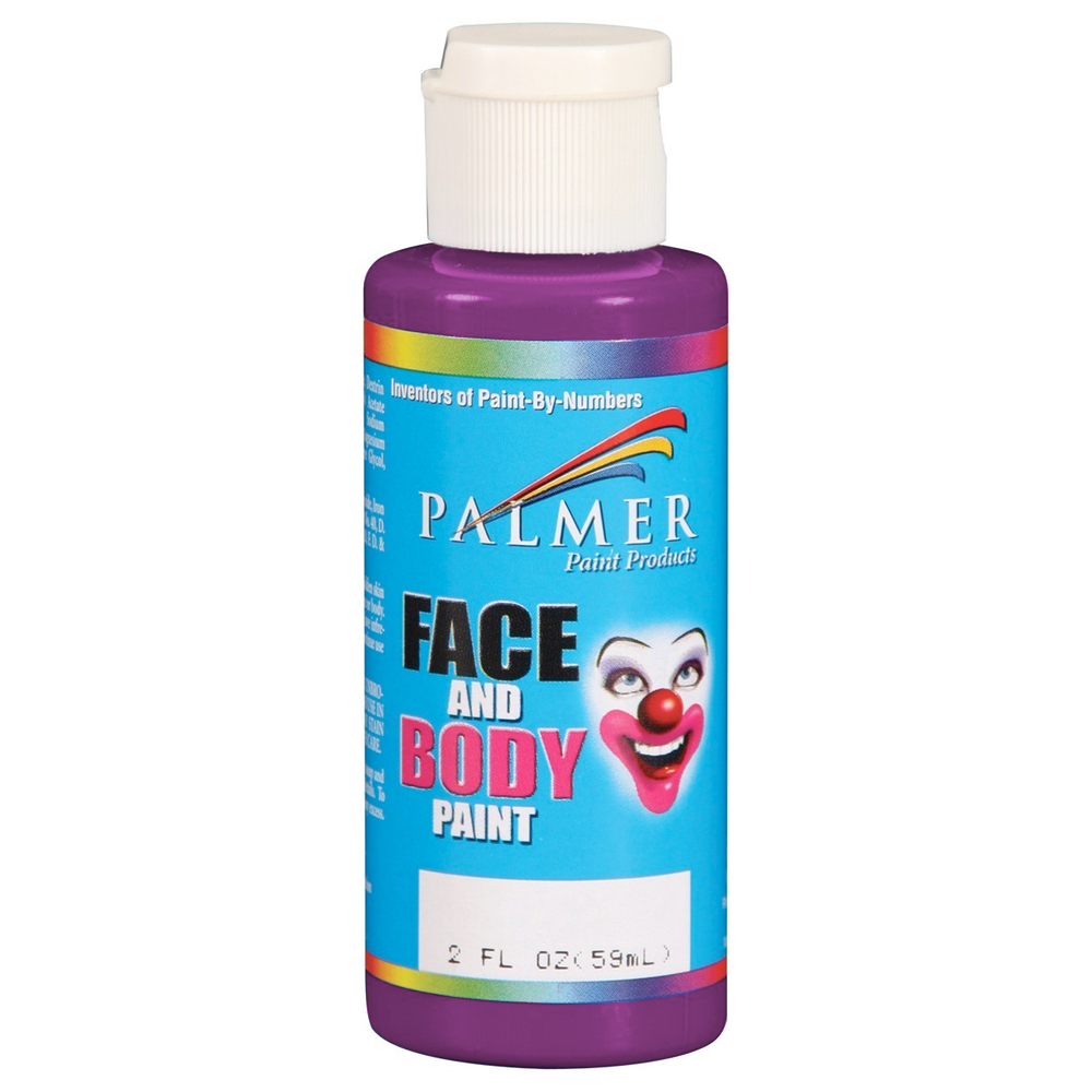 Palmer Face Paint 2 Oz Purple