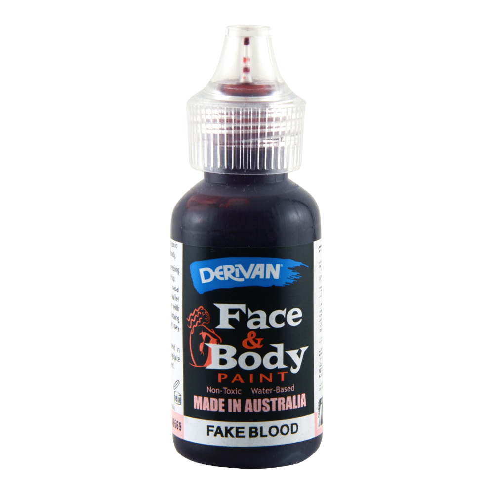 Derivan Face & Body Fake Blood 36ml Bottle