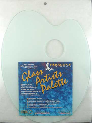 Paragona Oval Glass Palette