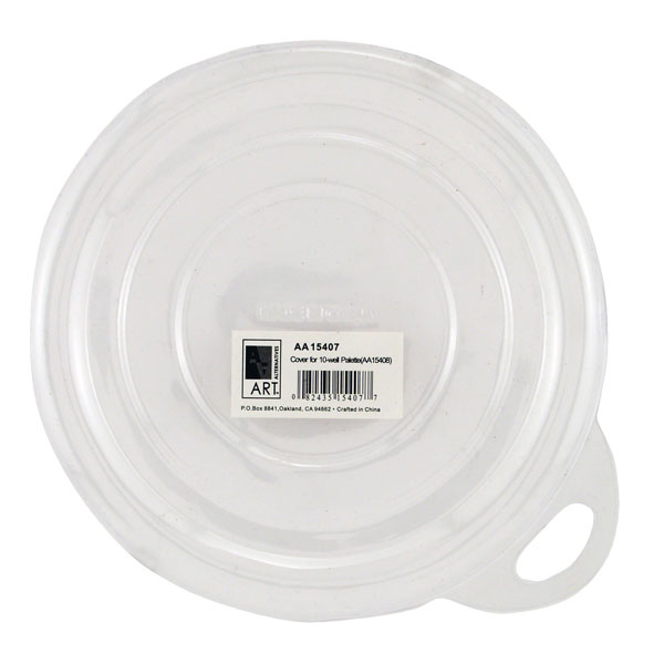 10-Well Round Plastic Palette Lid