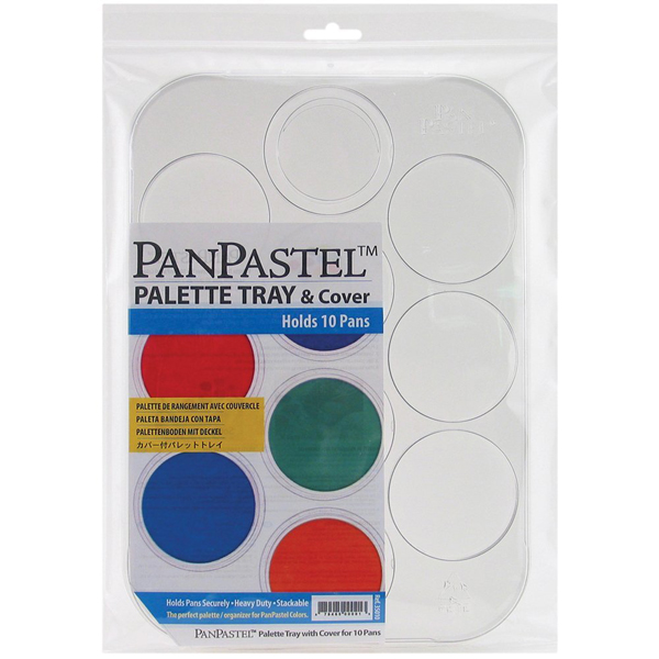 Panpastel Empty Palette Tray & Cover Holds 10