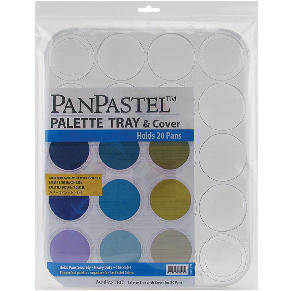 Panpastel Empty Palette Tray & Cover Holds 20