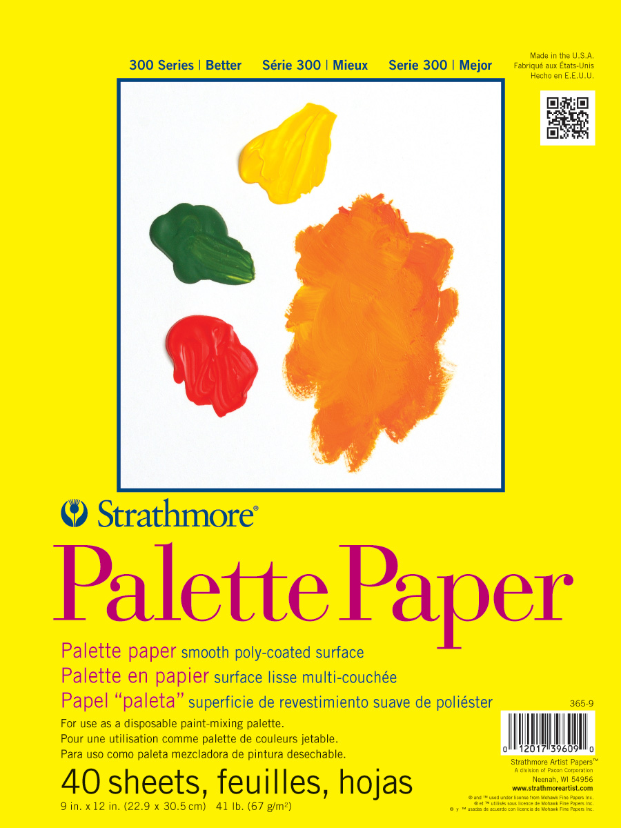 Strathmore Palette Paper Pad 9X12