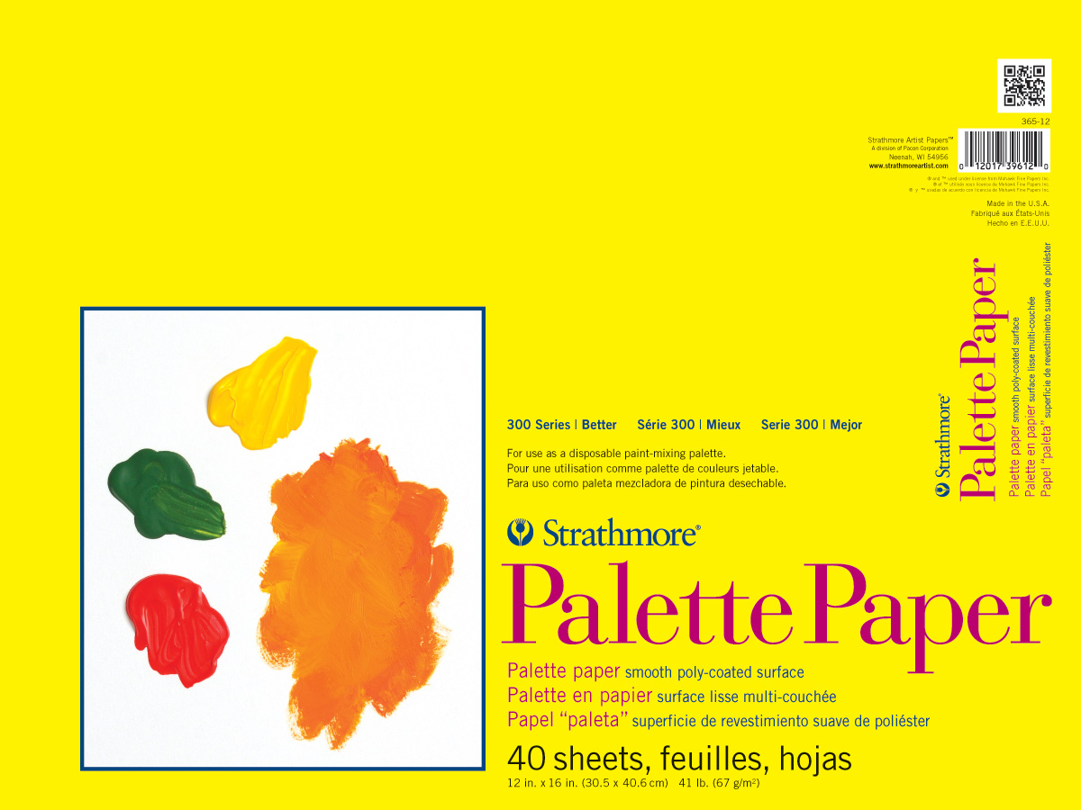 Strathmore Palette Paper Pad 12X16