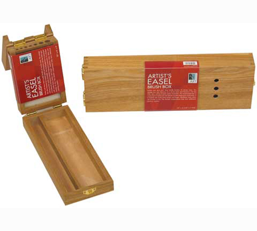 Art Alternatives Wood Box Brush Easel 4X10