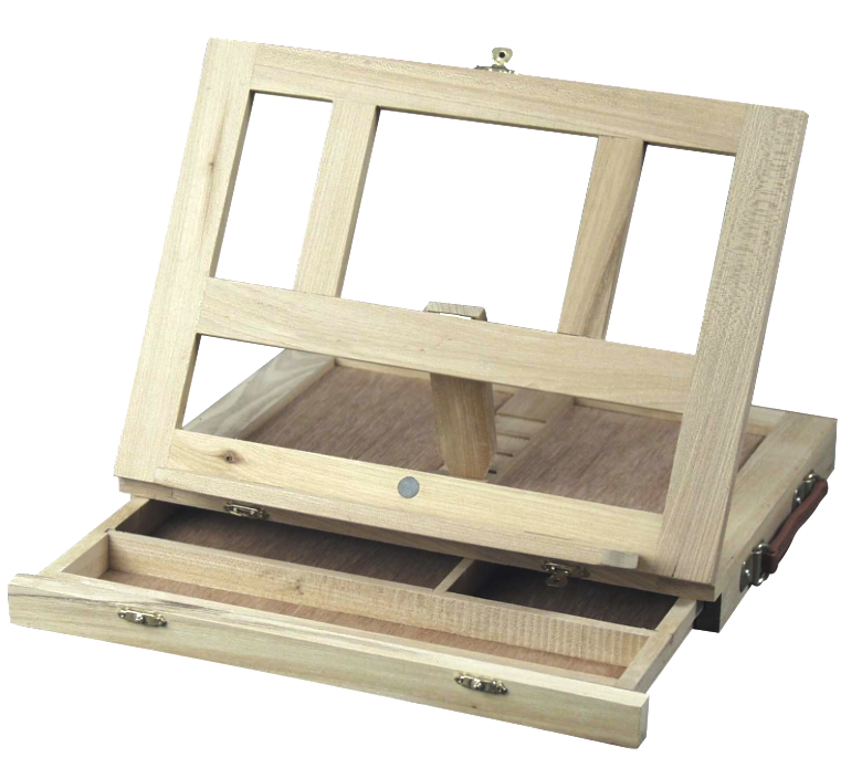 Art Advantage Wood Sketch Box Easel 10X13