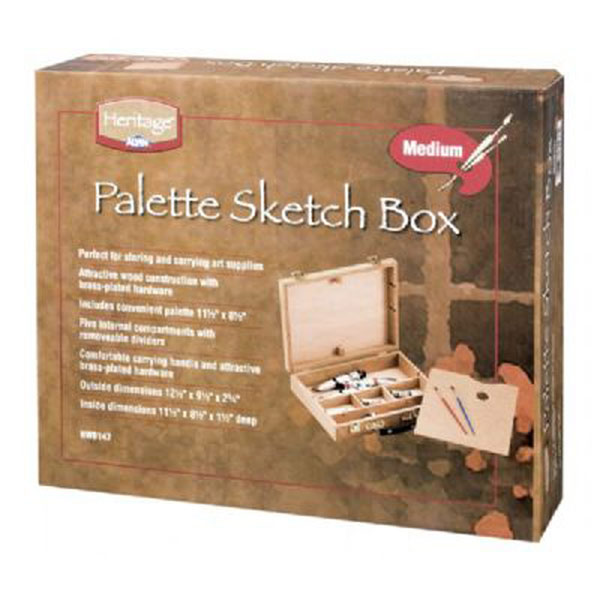 Heritage Palette Sketch Box Medium