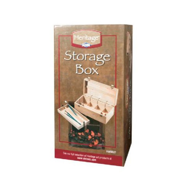Heritage Elmwood Storage Box