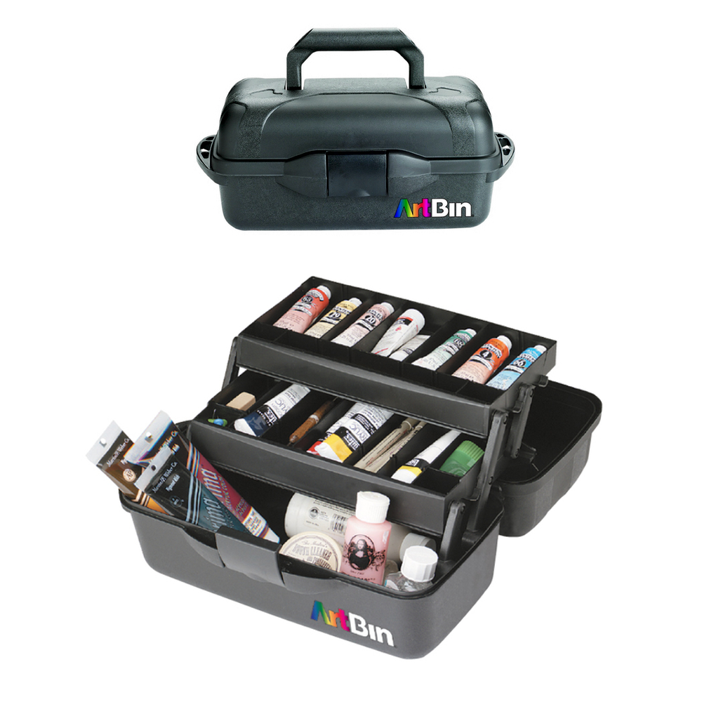 Artbin 8627Ab Essentials 2-Tray Black