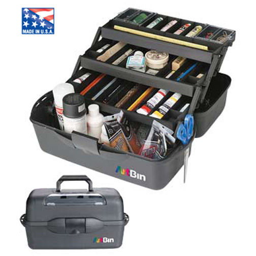 Artbin 8237Ab Essentials Xl 3-Tray Black