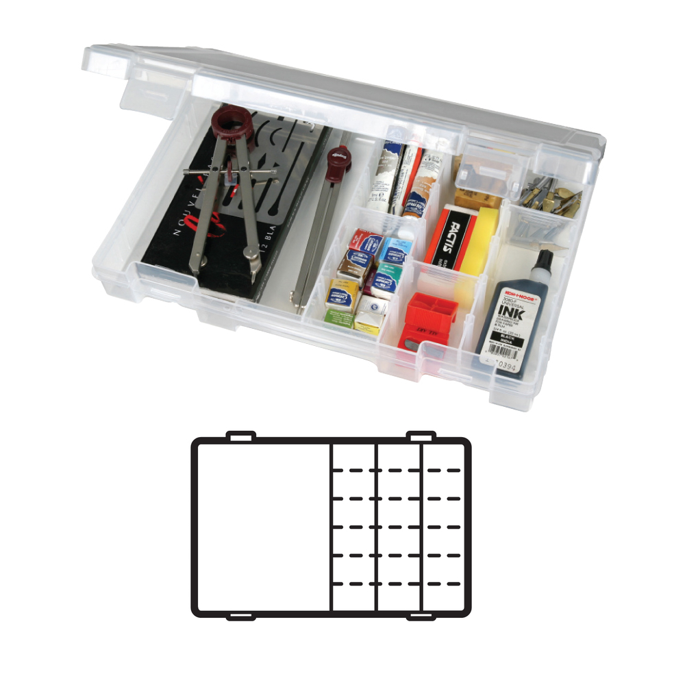 Artbin 4004Ab Solutions Box Medium