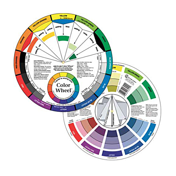 Color Wheels and Mixing Guides