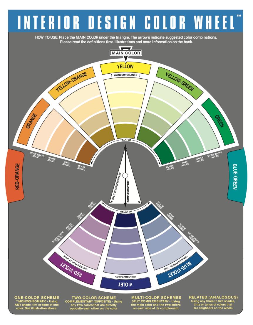 Buy Color Wheel Interior Design