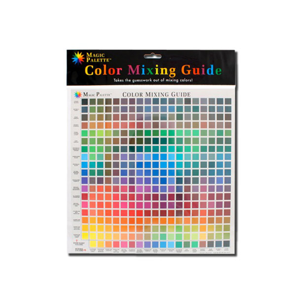 Magic Palette Color Mixing Guide 11.5 Inch