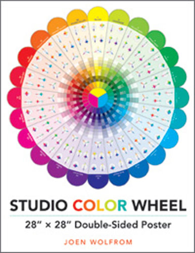 Studio Color Wheel Poster 28X28 Inches