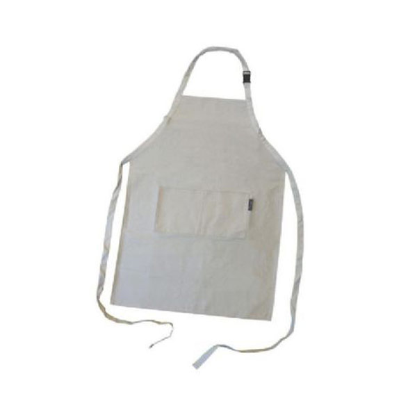 Adult Apron Natural Canvas 25X36