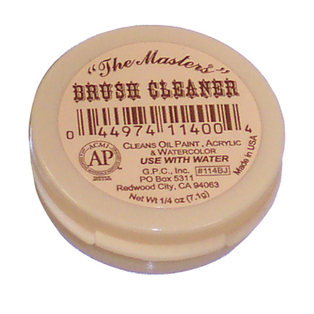 Masters Travel Size Brush Cleaner .25 Oz