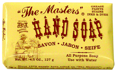Masters Hand Soap 3.5 Oz