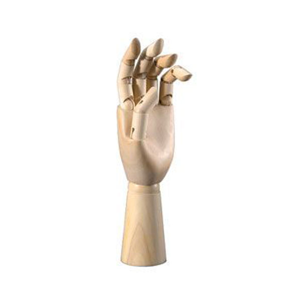 Heritage Mannequin Adult Left Hand 12 Inches