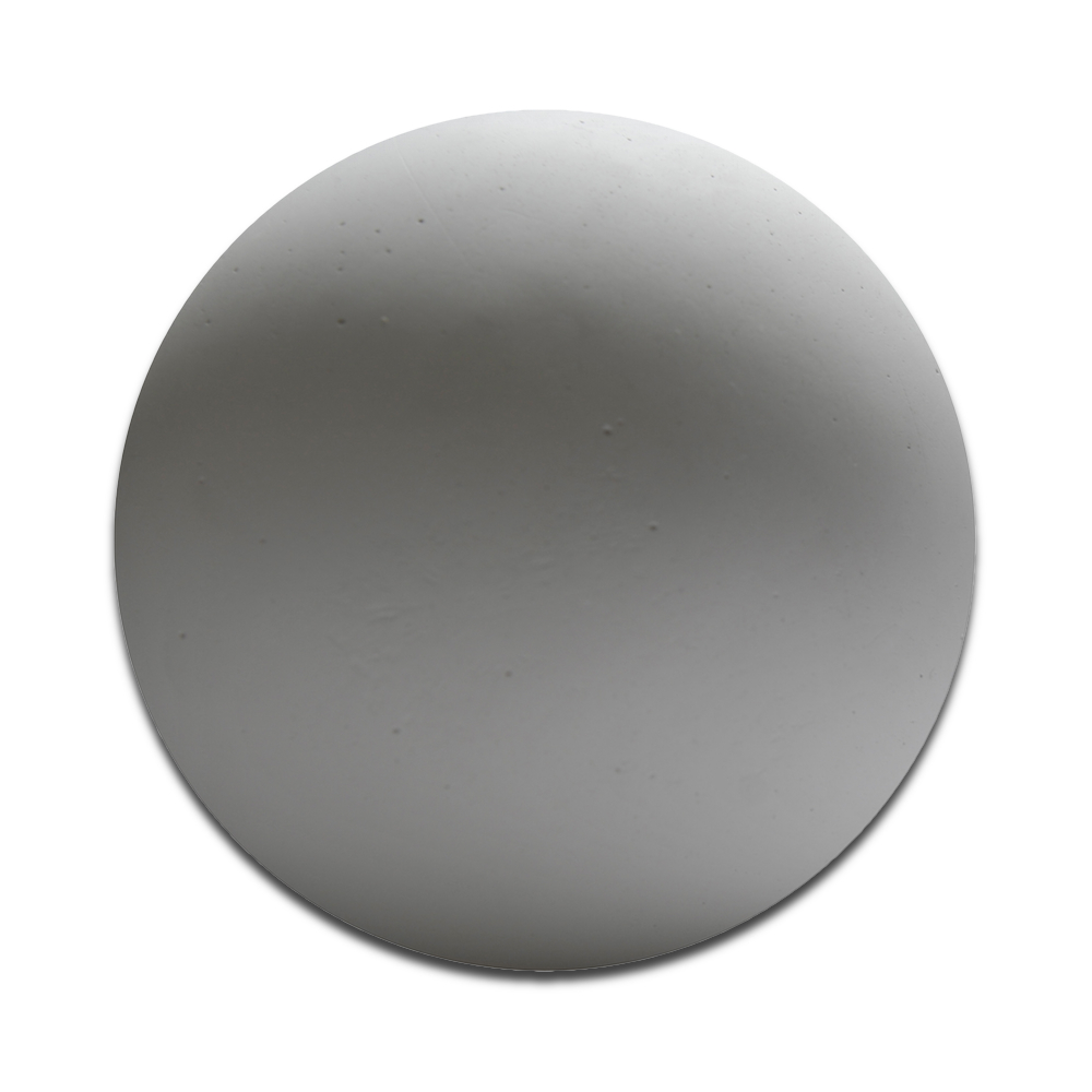 Plaster Cast Sphere Shape