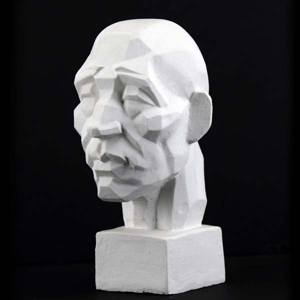 Plaster Cast Mini Perspective Head