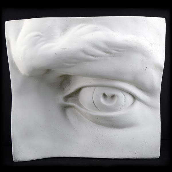 Plaster Cast Large Eye