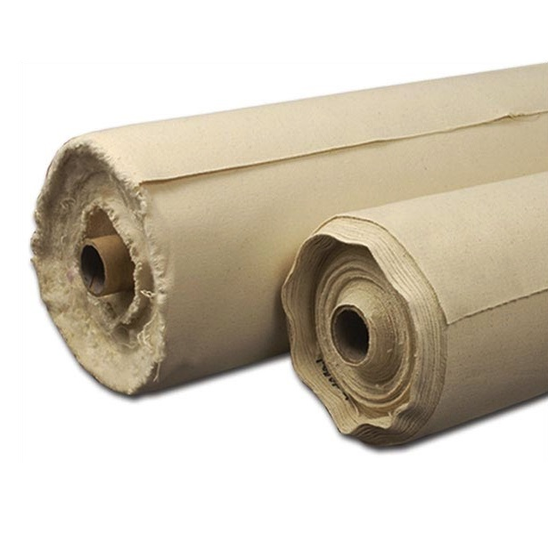 Aa Unprimed Canvas 7 Oz 62Inch X 6Yd Roll