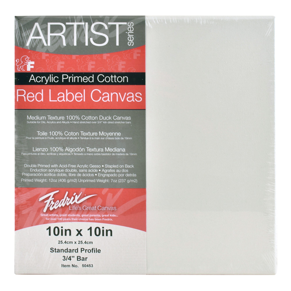 Fredrix Red Label Stretched Canvas 30X40