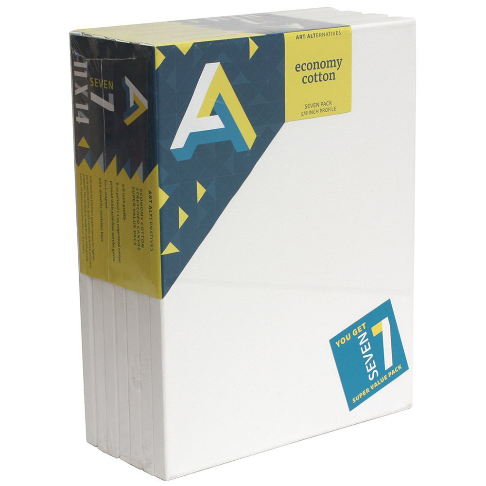 Aa Economy Super Value Canvas 7 Pack 9X12