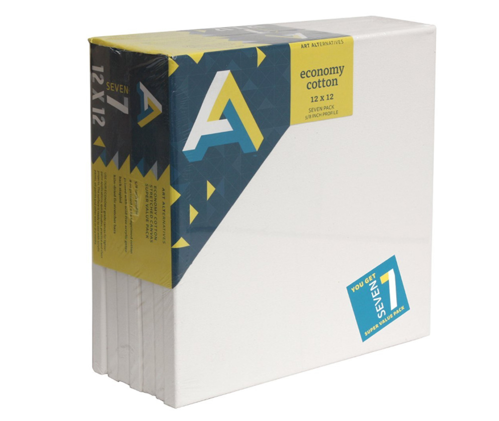 Aa Economy Super Value Canvas 7 Pack 12X12