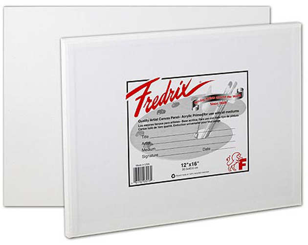 Fredrix Canvas Panel Polypack 20X30 2-Pack